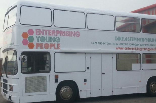 Branded Exhibition Bus
