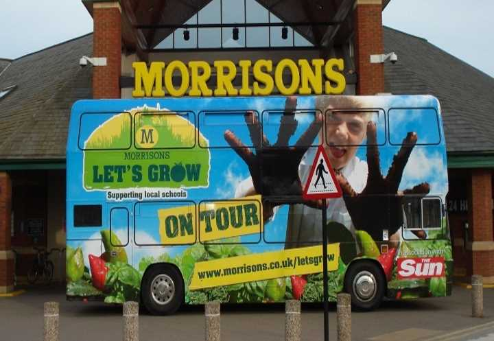 Morrisons Exhibition Bus Tour
