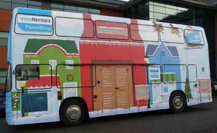 RSP01 MyHermes Promotional Bus