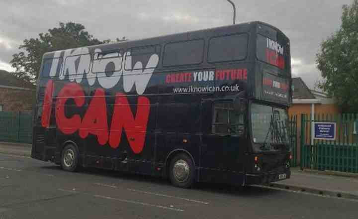 RSP04 I Know I Can Promotional Bus
