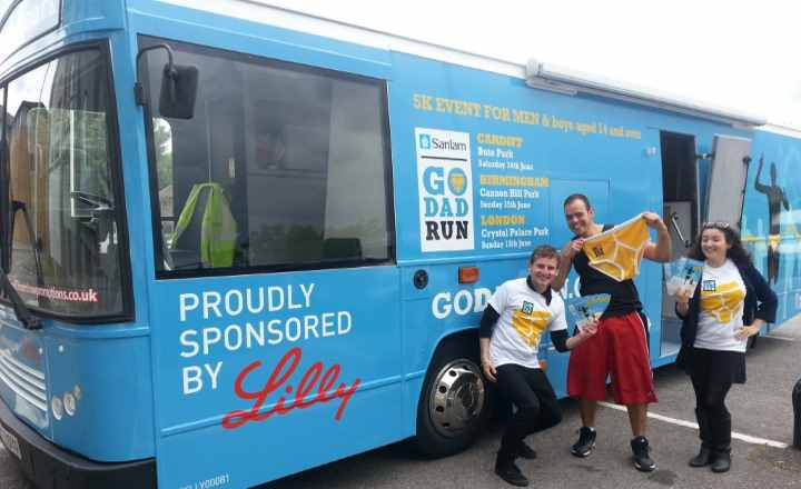 RSP06 Lilly Promotional Bus