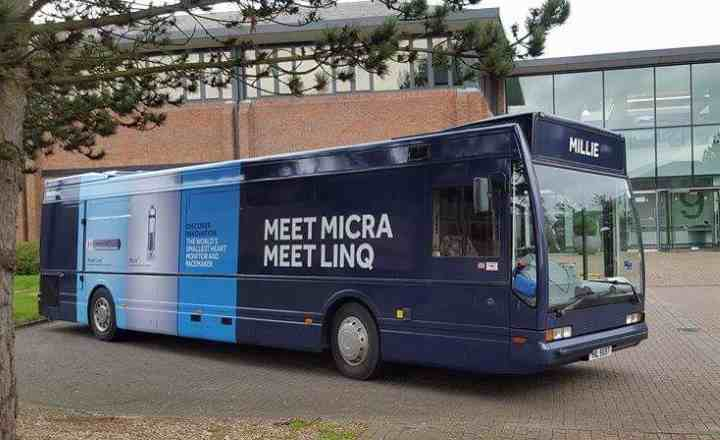 RSP09 Medtronic Europe Exhibition Bus