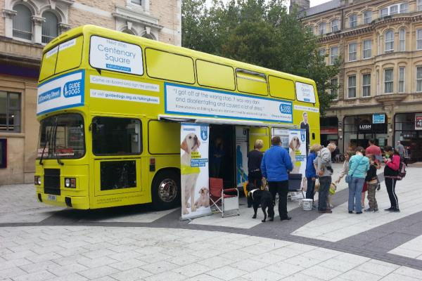 RSP01 Guidedogs Promotional bus