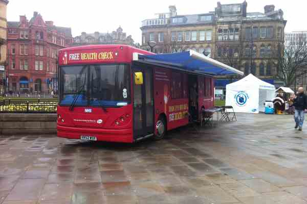 RSP05 Bradford Mobile Clinic Bus