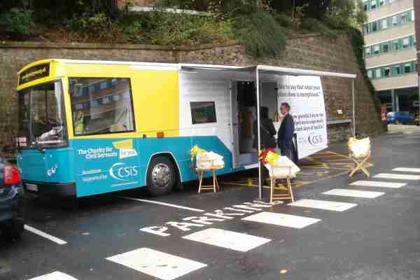 RSP06 Charity Exhibition Bus