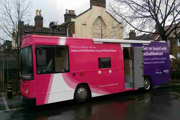 RSP06 Newham Health Promotion Bus
