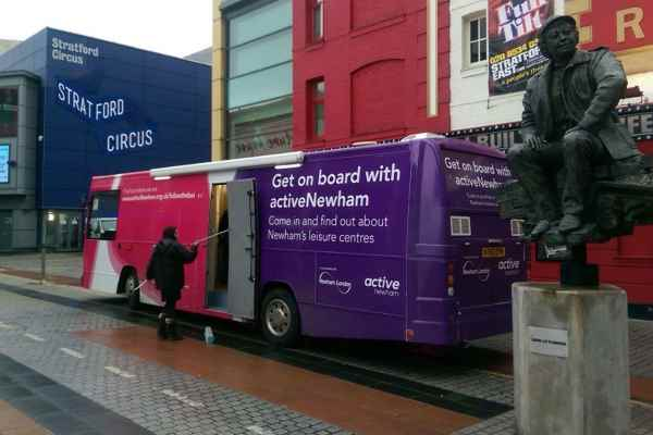 RSP06 Active Newham Health Promotion Bus