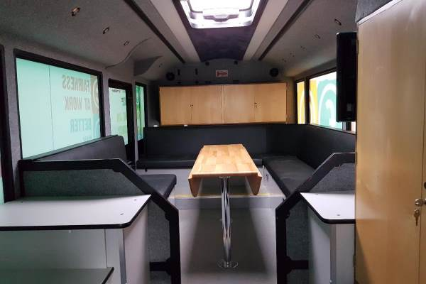 RSP07 Updated Bus Interior Rear Section