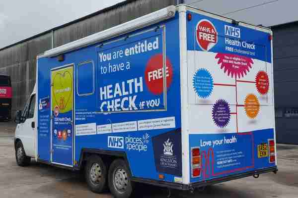 RSP10 Health Vehicle Kingston Upon Thames