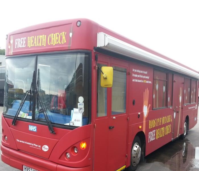 Health Bus Hire Tour