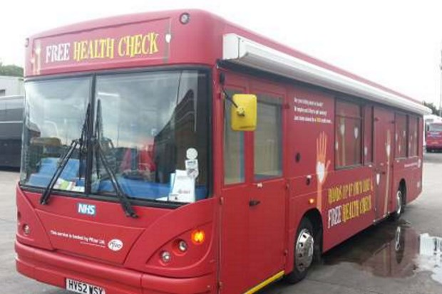 Roadshow Health Bus