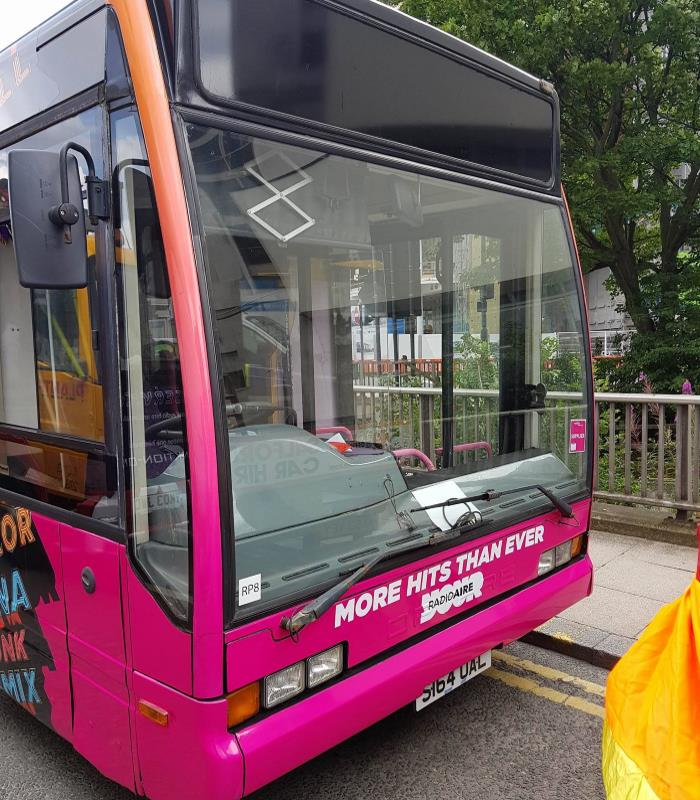 Radio Aire Promotional Bus