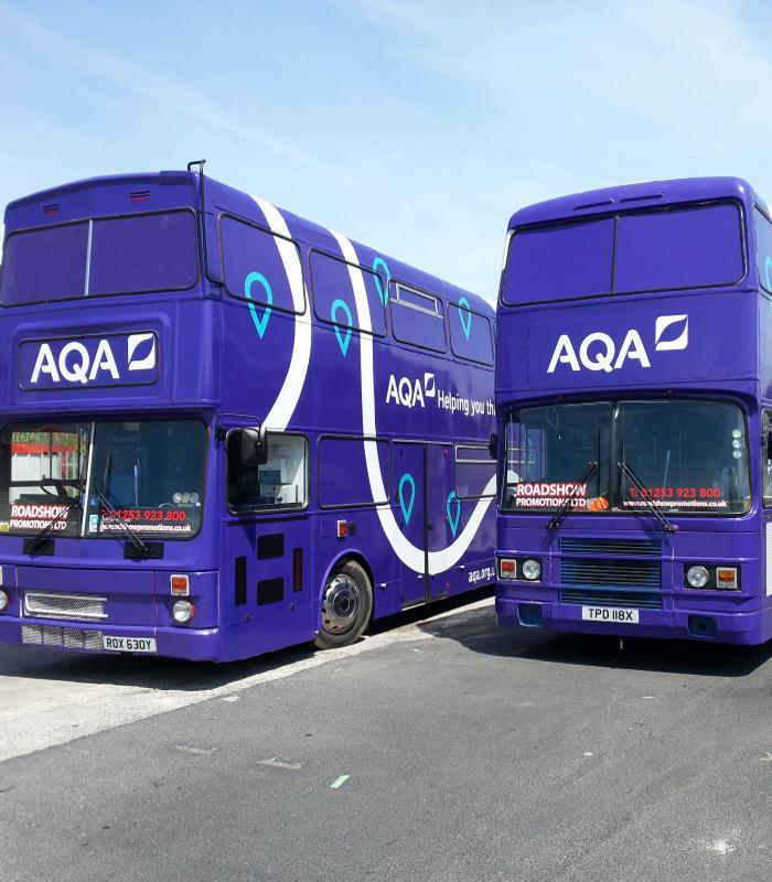 AQA Training Bus Tour