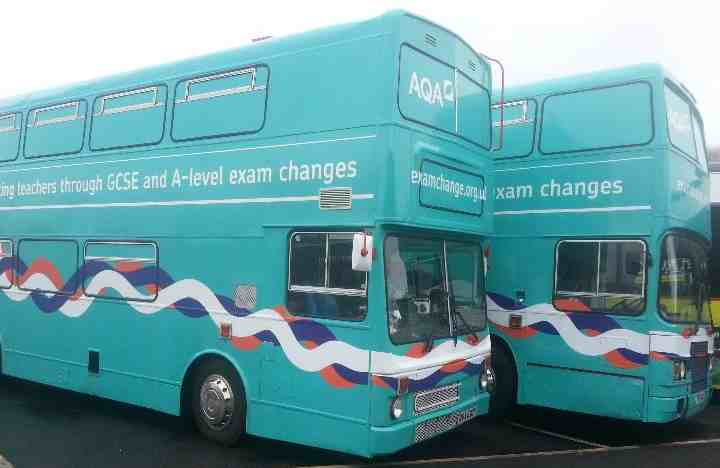 Double Decker Training Buses