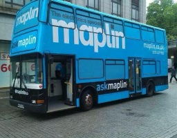 Vehicle Management Maplin Exhibition Bus