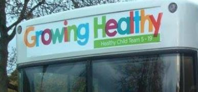 Durham NHS Health Bus Returns after 9 month Tour