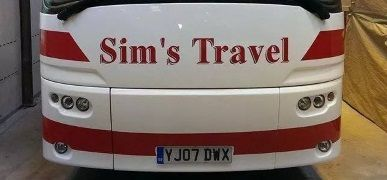 New Coach Livery for Sims Travel Coach