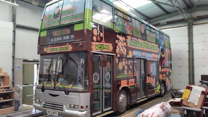 Exhibition Bus Conversion Refurbished
