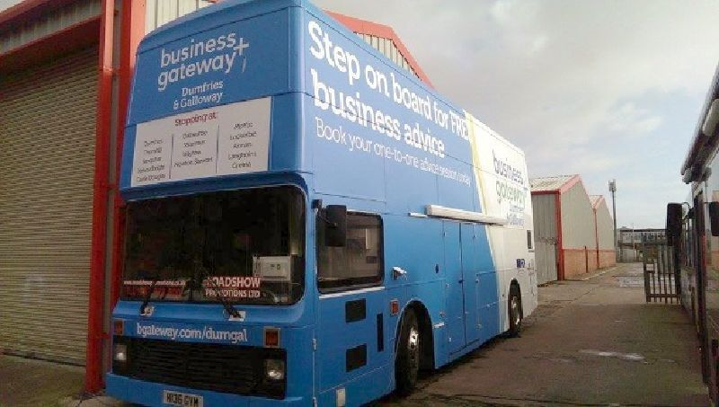 Dumfries & Galloway Hospitality Bus Ready to Tour