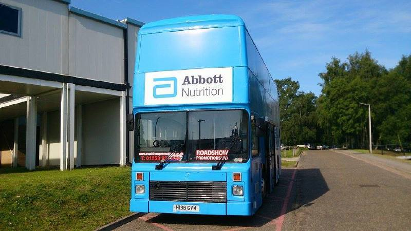 Abbotts Exhibition Bus Ipswich
