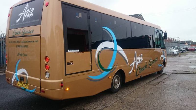 New Branding on Aziz Coaches Executive Coach
