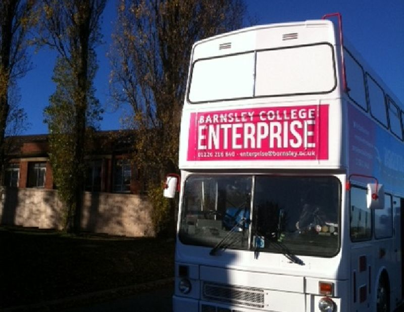 Barnsley College Training Bus