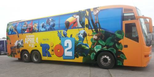 Rio2 Movie Branded Coach Branded