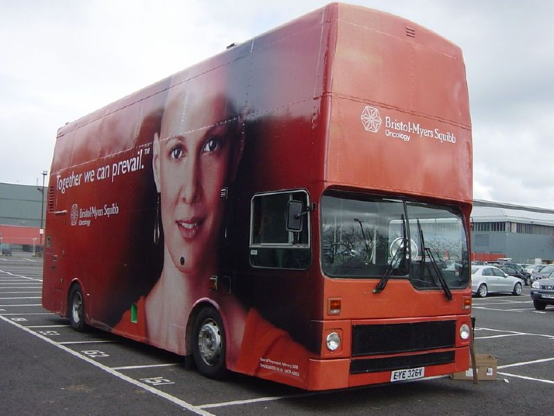 Bristol Myers Squibb Hospitality Bus Conversion