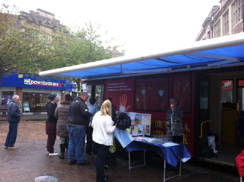 Hertfordshire NHS Mobile Clinic