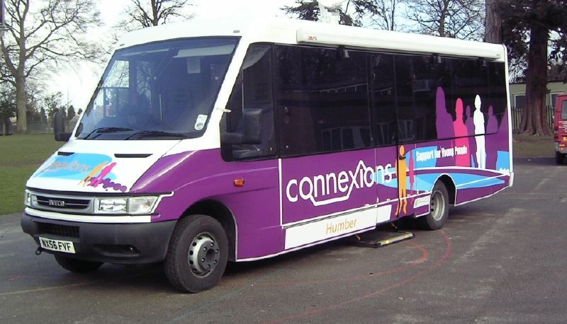 Connexions Outreach Bus Conversion