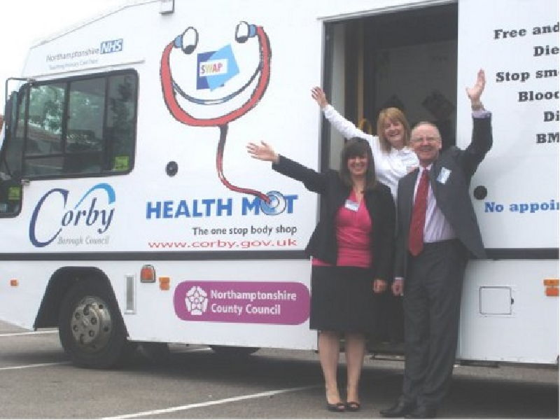 Corby Health HGV Truck Conversion