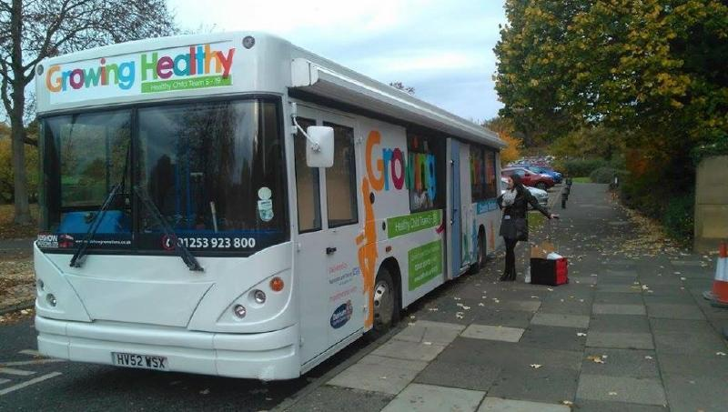 Durham Growing Healthy Health Bus