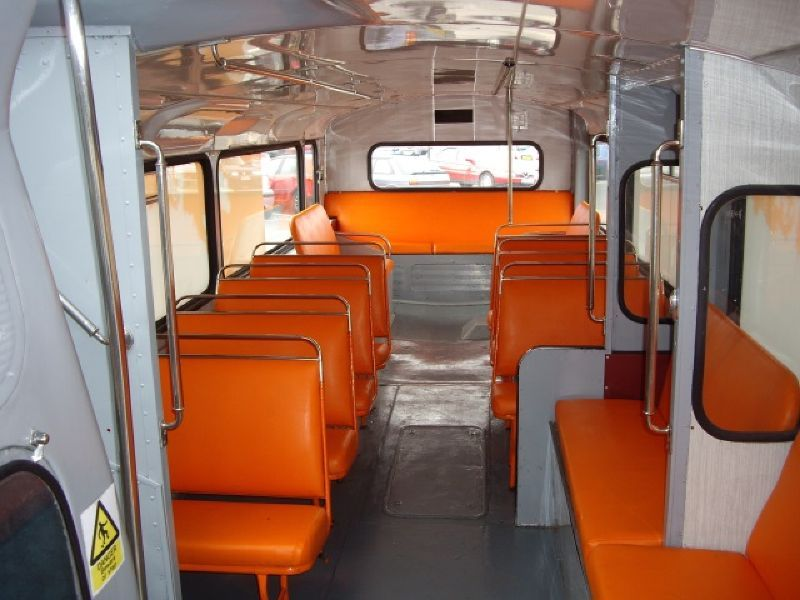 EasyJet Promotional Bus Interior