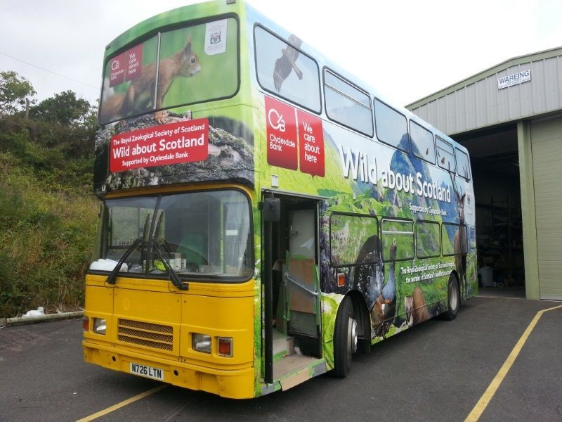 Edinburgh Zoo Double Decker Bus Conversion