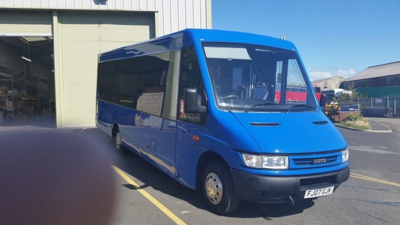 Eikon Charity Outreach Bus Conversion