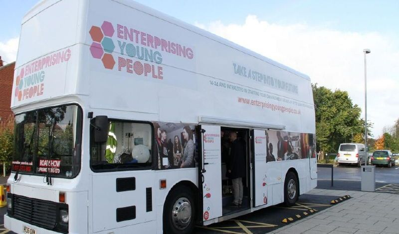 Enterprising Young People Hospitality Bus Tour