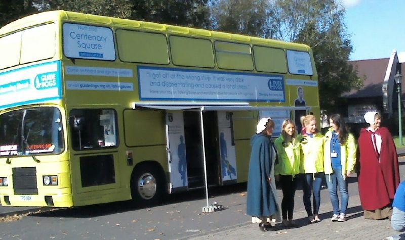Guide Dogs Promotional Bus Cardiff