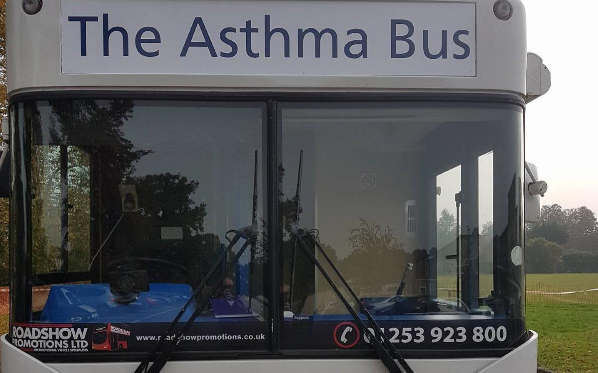 Slough Asthma Mobile Clinic Bus