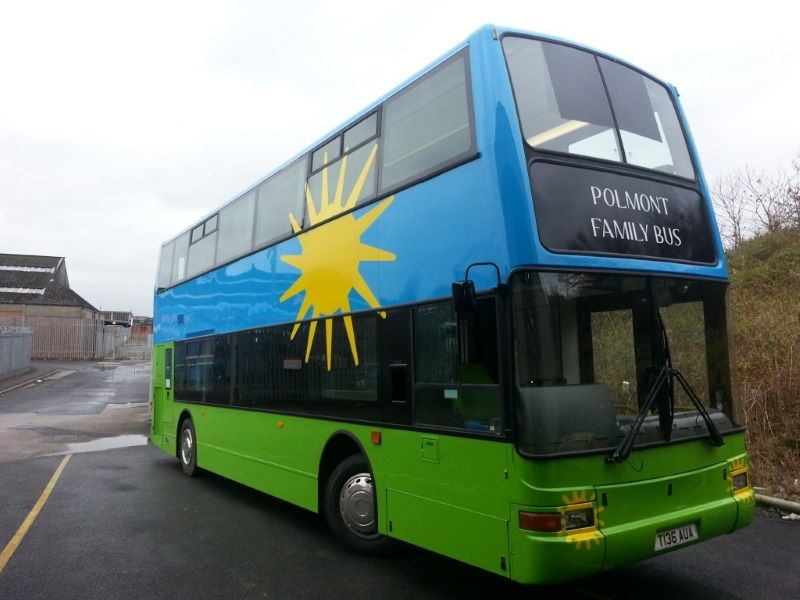 HMP Polmont Double Decker Bus Conversion