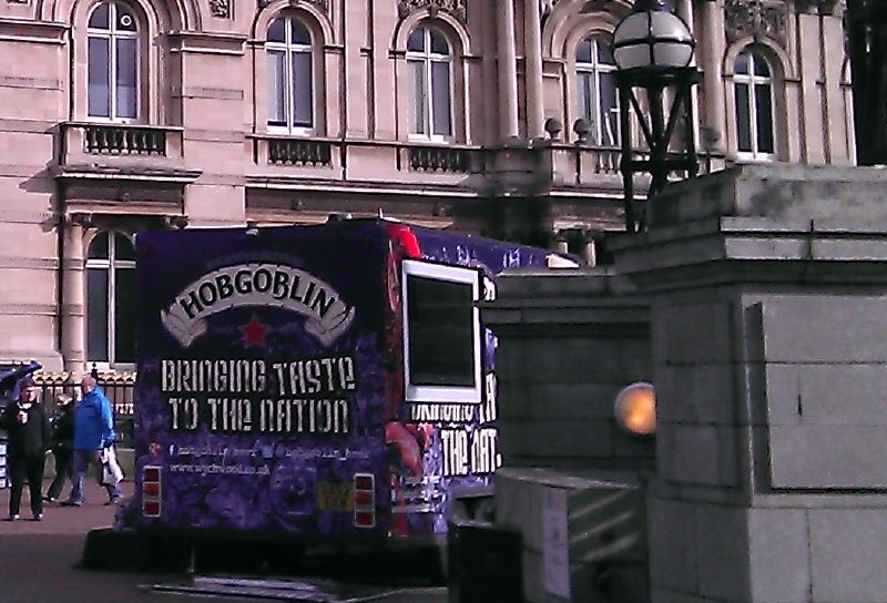 Hobgoblin Sampling Van in Hull