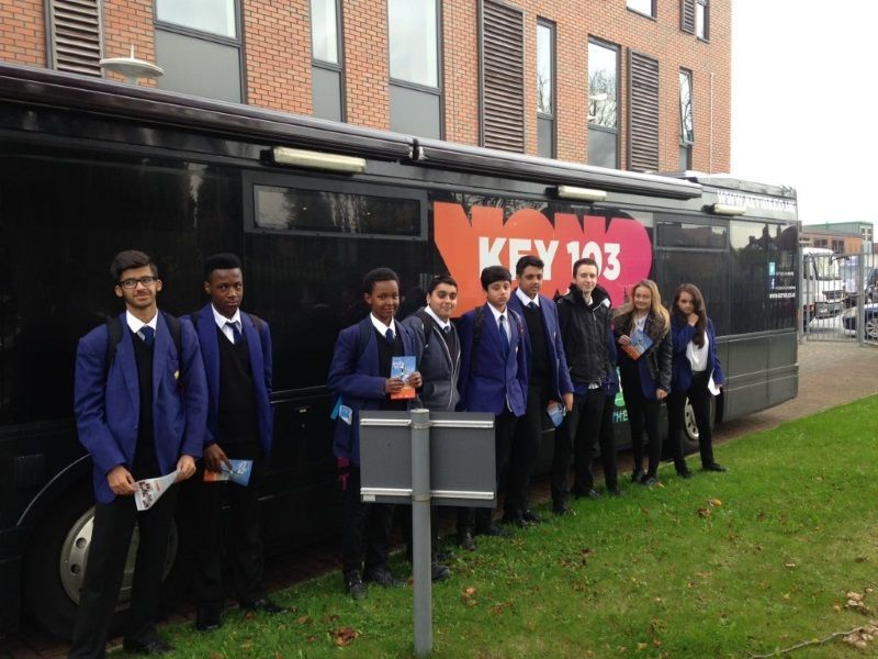 Key 103 Apprenticeship Bus on Tour Salford