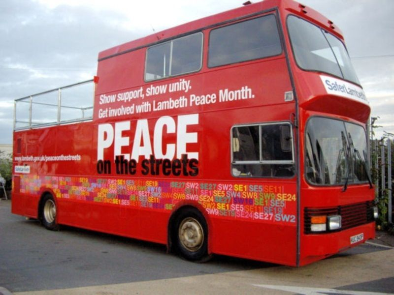 Lambeth Converted Promotional Bus