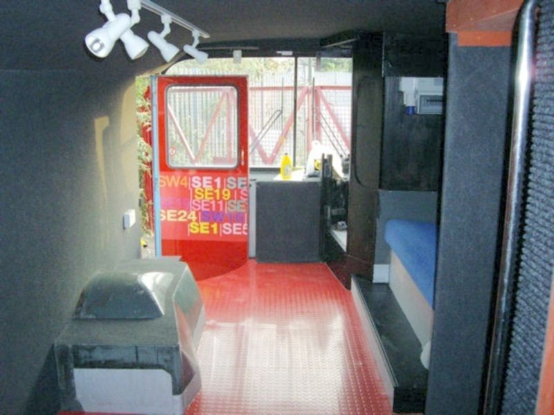 Keep Lambeth Safe Promotional Bus Interior