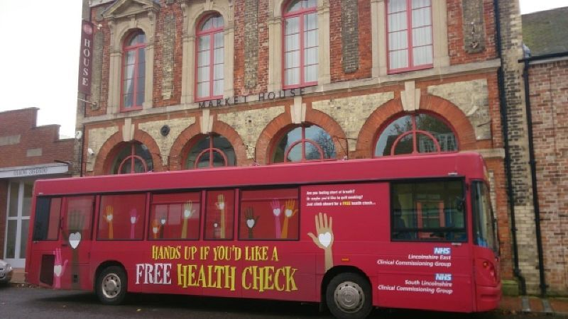 Lincolnshire NHS Health Bus Tour
