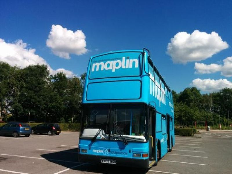 Maplin Exhibition Bus Tour Ends