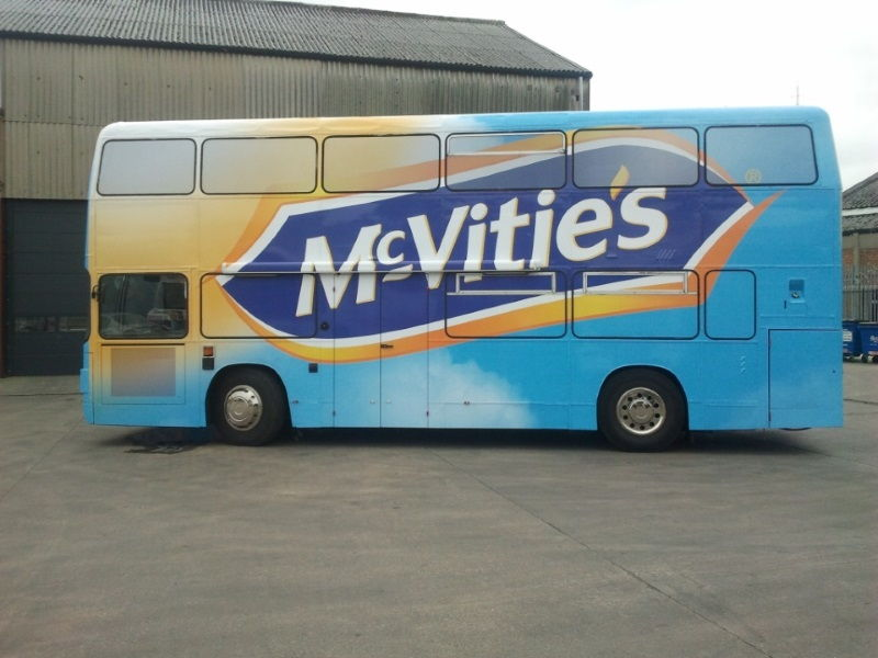 McVities Branded Exhibition Bus