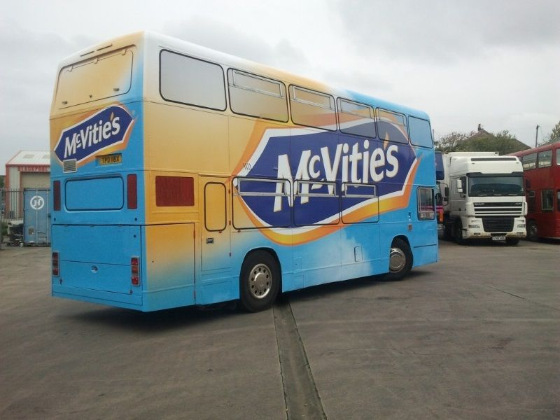 McVities Converted  Exhibition Bus