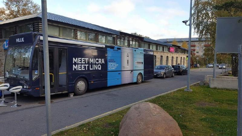 Medtronic Europe Exhibition Bus