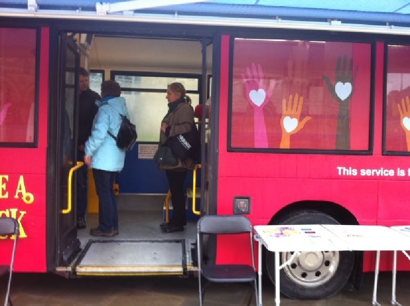 Bradford NHS Mobile Clinic Vehicle