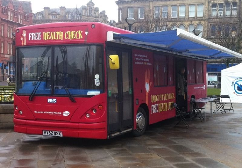 Bradford NHS Mobile Clinic Bus